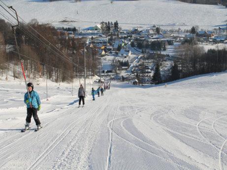 Ski areála Oaza