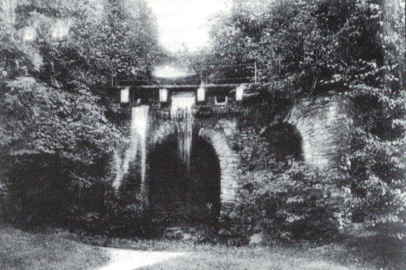 zámecky park grotta historie
