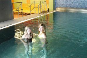 Wellness abazén hotelu Dlouhé stráně