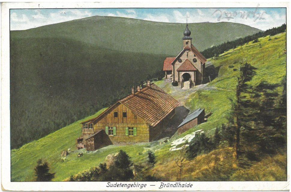 Kaple a chata na Vřesové studánce, r. 1932