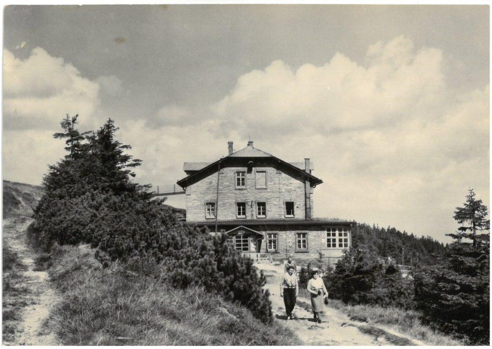 Chata Jiřího na Šeráku, r. 1966