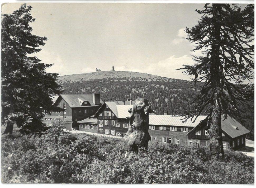 Chata Ovčárna, r. 1961