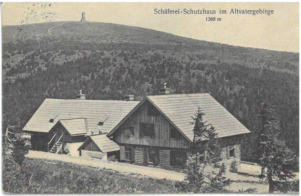 Chata Ovčárna, r. 1924